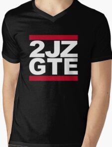 2JZ-GTE Mens V-Neck T-Shirt
