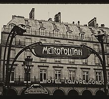 Parisian Postcard - VIII by circleMstudios