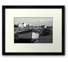 Ouessant - Voyage Immobile. Framed Print