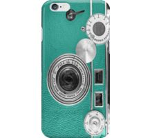 Teal retro i=phone case iPhone Case/Skin