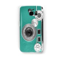 Teal retro i=phone case Samsung Galaxy Case/Skin