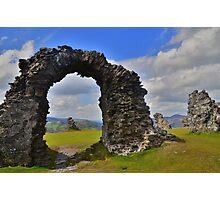 Offa's Dyke Path: Castel Dinas Bran Photographic Print