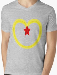 peoples republic of mcdonalds. Mens V-Neck T-Shirt