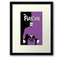 THE PHANTOM Framed Print