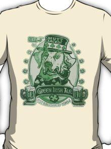 Green Irish Ale Label T-Shirt