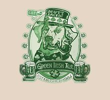 Green Irish Ale Label Unisex T-Shirt