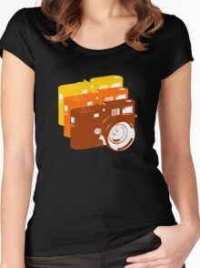 Leica addict Women's Fitted Scoop T-Shirt