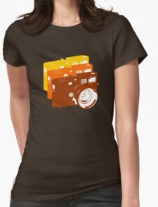 Leica addict Womens Fitted T-Shirt