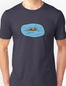 Fishing Boat Cats Unisex T-Shirt