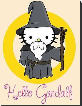 Hello Kitty Gandalf