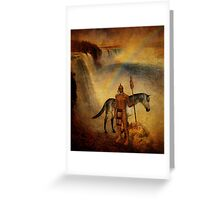 Sacred Grounds Greeting Card