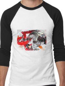 Christmas Candy Jar Men's Baseball ¾ T-Shirt