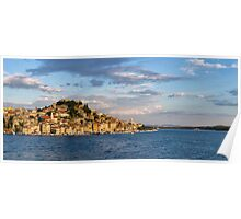 Sibenik from the sea Poster