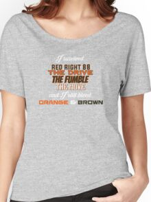 I survived (Browns) Women's Relaxed Fit T-Shirt