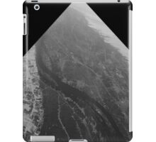 Egypt From Above - The Nile In Black and White - Framed iPad Case/Skin