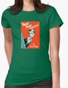 Harry Hears A Horcrux ! Womens Fitted T-Shirt