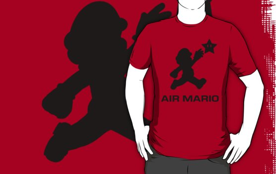 Air Mario  by TeeHut