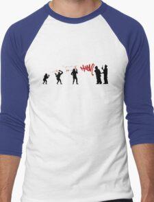 99 Steps of Progress - Self-expression Men's Baseball ¾ T-Shirt