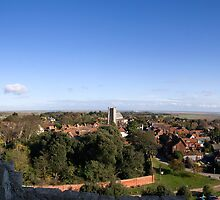Orford Castle Panoramic by Nigel Bangert