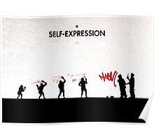 99 Steps of Progress - Self-expression Poster