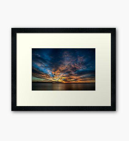 Good Morning Tuesday! Framed Print