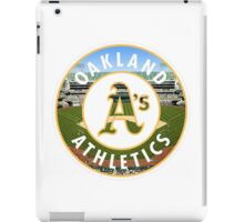 Oakland Athletics Stadium Logo iPad Case/Skin