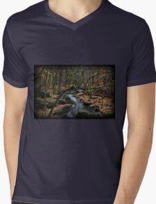 Childs October Mens V-Neck T-Shirt