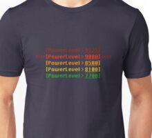 It's over nine-thousaaaaaaaaaaaaaand! Unisex T-Shirt