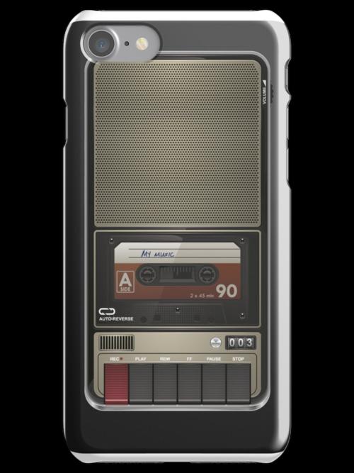 My old cassette player... by Winternator