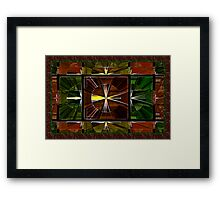 Window Clocks Framed Print