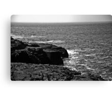 Ireland in Mono: Two Can Play That Game Canvas Print