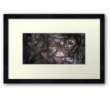 I Live Submerged Framed Print