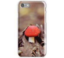 Red Cap iPhone Case/Skin