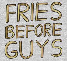 Fries Before Guys Baby Tee