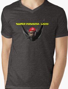 Super Mishima Land Mens V-Neck T-Shirt