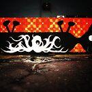 Nottingham Graffiti by Den McKervey