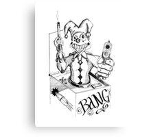 Jack the Gunslinger Metal Print