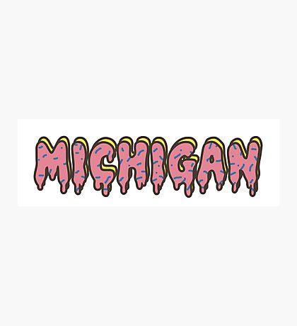 University of Michigan Odd Future Photographic Print