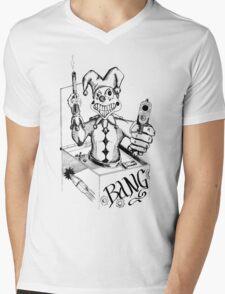 Jack the Gunslinger Mens V-Neck T-Shirt