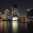 Dubai Creek Skyline by Omar Dakhane