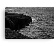 Ireland in Mono: Feel The Wind On My Face Canvas Print