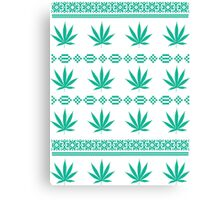 Ugly Weed Canvas Print
