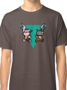 8Bit Bebop and Rocksteady Classic T-Shirt