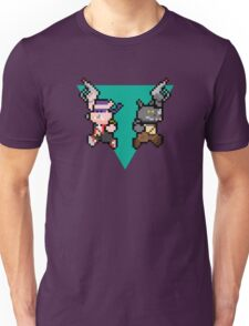 8Bit Bebop and Rocksteady Unisex T-Shirt