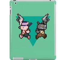 8Bit Bebop and Rocksteady iPad Case/Skin