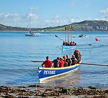 Gig Races 2 ~ Lyme Regis Regatta by Susie Peek