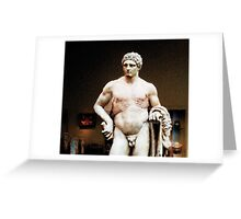 Strip Search from The Watchman's Loneliness series Greeting Card