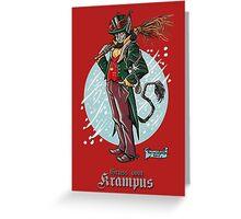 Gentleman Krampus Greeting Card