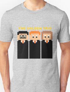The 8 Bit Golden Trio T-Shirt