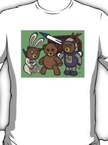 Teddy Bear And Bunny - Spies Among Us T-Shirt